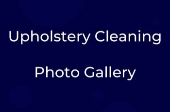 Upholstery Cleaning Gallery