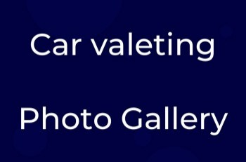 Car Valeting Gallery